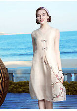 All Seasons Mid-Calf Machine Washable Dresses for Women