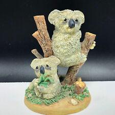 Koala figurine Lou Rankin statue sculpture Australia Sharing the Moment resin