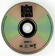 The Bridge on the River Kwai (DVD disc) William Holden, Alec Guinness