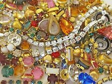 Huge Lot ASSORTED SWAROVSKI Rhinestone Chain Connectors Rope Pearl Setting CRAFT