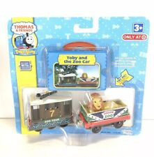 Thomas & Friends Take Along Toby And The Zoo Car 2009 Toy Set