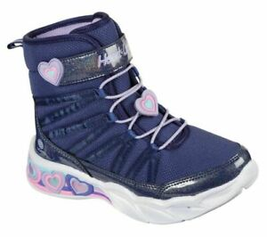 New Girl's SKECHERS S Lights: Sweetheart Lights - Love to Shine Toddler Boots