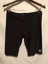 Speedo Endurance Men's Swimming Shorts Trunk Size 36 Black