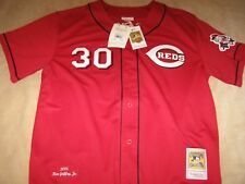 AUTHENTIC MITCHELL and NESS  GRIFFEY,JR  '05 Cincinnati REDS Jersey-Size 52 $275