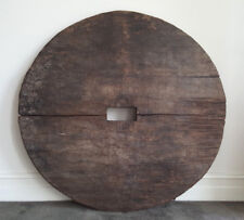 Antique/vintage, water well lid, original, slab, solid, unique, hanging, decor