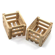 Yeah Racing 1:10 RC Car Rock Crawler Accessory Wooden Crate Off Road #YA-0400