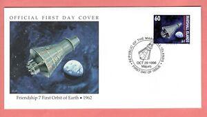 Marshall Islands; 1998 Friendship 7 Orbit Earth Space FDC