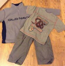 Boys Fleece top, Snake T shirt and Shorts Bundle 7-8 years M69