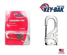 Key-Bak Stainless Steel Carabiner-Tool 5 Function With Key Ring