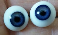 13mm GLASS DOLL EYES, GLASS EYES for ANTIQUE DOLL, Dollmaking