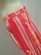 Gucci Trousers/Capri Pants - Vintage - Pink/Orange/White - IT 38/UK 8-Worn Once