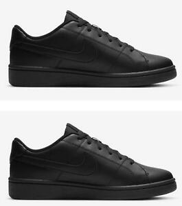 Nike Court Royale Mens Trainers All Black Sneakers Casual Sports Trainers
