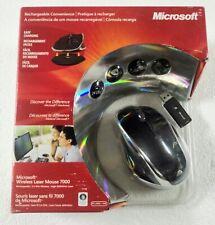Microsoft Wireless Rechargeable Laser Mouse 7000 Mac/Windows (KXA-00003)