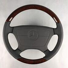 Mercedes Benz Classic r129 w124 w140 w201 w202 w210 Bois Airbag Volant Original