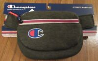 Champion Attribute Waist Pack Fanny Pack Bag Dark Grey Waistbag CH1005 020 New