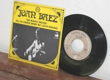 Ep joan baez - the magic wood & all in green went my love riding