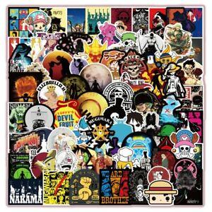 One Piece Anime Graffiti Stickers - 100 Pcs