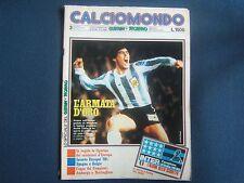 GUERIN SPORTIVO=CALCIOMONDO=N.3 1980=MARADONA