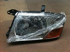 MITSUBISHI PAJERO HEADLIGHT NP 11/00-10/06 CHROME W/CORNER LIGHT LEFT PASSENGER