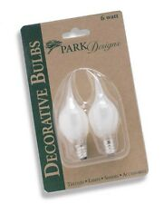 6 Watt Silicone Light Bulbs Set of 2 by Park Designs