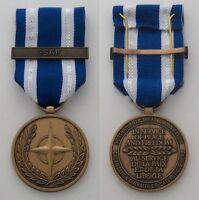 NEW OEF OIF NATO Medal Iraq Afghanistan ISAF Set & RIBBON DEPLOYMENT AR 670-1 RG