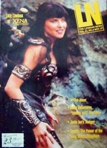 LN - THE LESBIAN NEWS MAGAZINE #4 - XENA - LUCY LAWLESS COVER - NOV 1997 - RARE