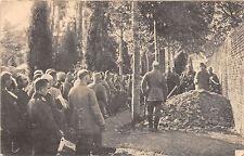 Kriegerbeerdigung in Frankreich Feldpostkarte 1916