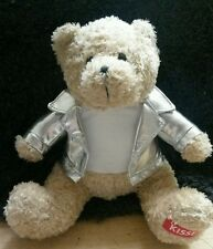 Hershey Kisses Teddy Bear Gallerie Plush Soft Toy Silver Jacket Advertising EUC