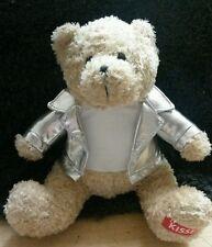 Hershey Kisses Teddy Bear Gallerie Plush Soft Toy Silver Jacket Advertising EUC
