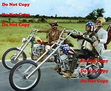 Easy Rider 8 x10 Photo Peter Fonda Jack Nicholson Harley Davidson Man Cave DECOR