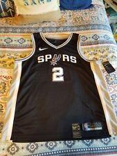 Nike Kawhi Leonard San Antonio Spurs jersey NBA SZ 56 XXL Swingman Road 2XL