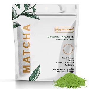 Te verde molido Japones Matcha USDA Organica *Calidad Culinaria*