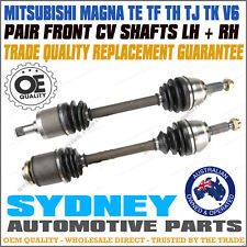 BRAND NEW CV JOINT DRIVE SHAFT Mitsubishi Magna TE TF TH TJ TK V6 (PAIR)