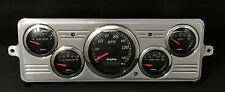 1939 Chevy Car 5 Gauge GPS Dash Panel Cluster Set Black
