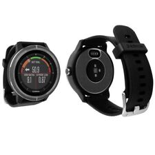 Skinomi Brushed Steel Skin+Clear Screen Protector for Garmin Vivoactive 3