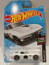2021 Hot Wheels #010 '64 Corvette Sting Ray HW Race Day 2/10 White