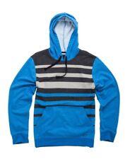 Taglia M - Felpa Uomo con Cappuccio Alpinestars Kingpin Blue Grey Pullover Hoody