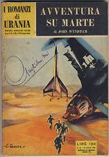 John Wyndham AVVENTURA SU MARTE Urania 49 1954 OTTIMO