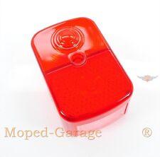 Simson Schwalbe KR 51/1 SR 4 Rücklichtkappe Mokick Rücklicht Kappe Glas Rot Neu