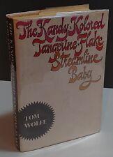 The Kandy Kolored Tangerine Flake Streamline Baby- FE-Signed- Tom Wolfe