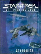 Star Trek Starships RPG Hardcover Book Roleplaying New