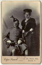 cabinet photo military Scottish soldier uniform Kilt London photographer