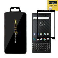 Soineed For Blackberry Key2 Tempered Glass Full Cover Screen Protector
