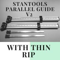 Parallel Guide rail 500 that fits Makita, festool guide rail track with thin rip