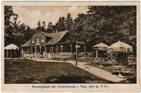 Ansichtskarte Heuberghaus bei Friedrichroda in Thüringen Rennsteig - mit Stempel