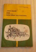 John Deere RG series Row-crop Cultivators Operator's manual OM-N97720 52 pages