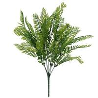 Artificial Leaves Plants Fake Vivid Plastic Persian Grass Fern Home Decor JF#E