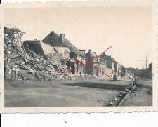 Nr 17259 Foto 2. Weltkrieg Zerstörung  in Maria Leiden Holland 1940