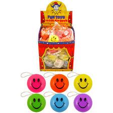 72 Smiley Return Top Yo-Yos - Pocket Money Toys