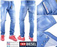 DIESEL TEPPHAR 0855G W31 L32 Mens Denim Jeans Slim Fit Skinny